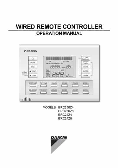 wired-remote-controller-operation-manual-brc2324